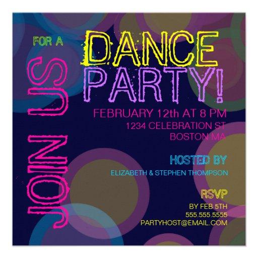 Disco Party Invitations is luxury invitations ideas