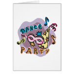 Dance Party Invitation Cards