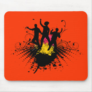 dance party mouse pad