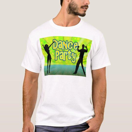 Dance Party, Neon Green/Black T-Shirt
