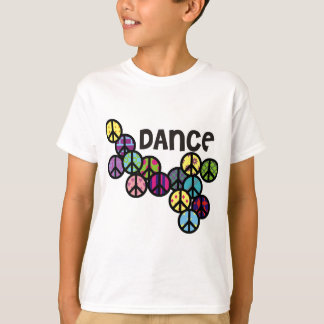 Dance Peace Signs Filled T-Shirt