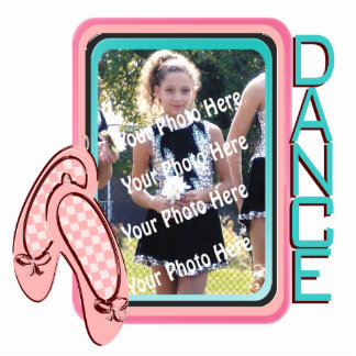 Dance Photo Frame Cutout