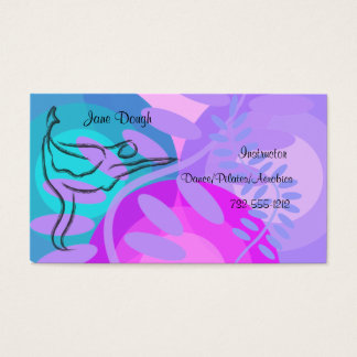 Dance Pilates Dance Appointment Card