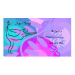 Dance Pilates Dance Appointment Card Business Card Templates