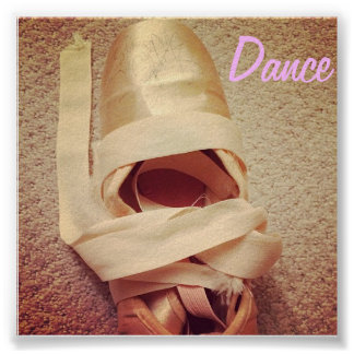 Dance Point Shoes Poster