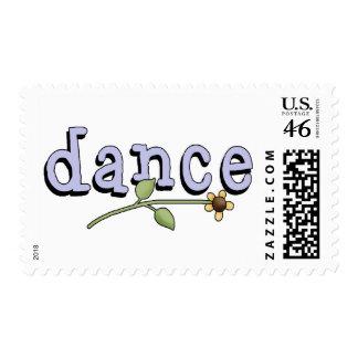 Dance Postage Stamp