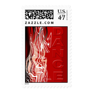 Dance! Postage Stamps