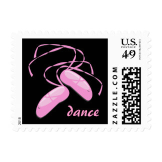 Dance Postage Stamps