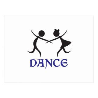 DANCE POST CARD