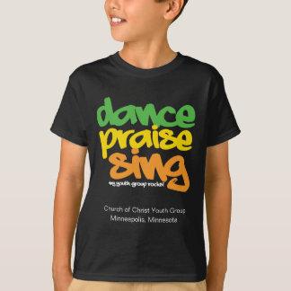 Dance Praise Sing Youth Group Custom Shirt Tee