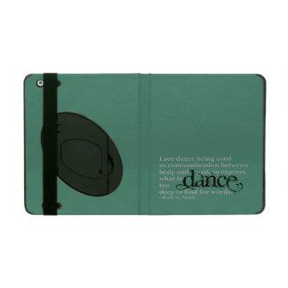 Dance Quote iPad Cover