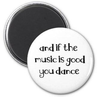 Dance quote fridge magnets