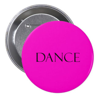 Dance Quotes Hot Pink Inspirational Dancing Quote Button