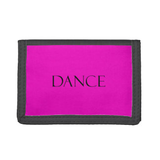 Dance Quotes Hot Pink Inspirational Dancing Quote Wallets