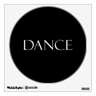 Dance Quotes Inspirational Dancing Quote Room Sticker