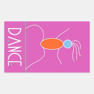 Dance! Rectangular Sticker