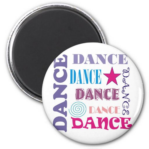 Dance Repeating Refrigerator Magnet