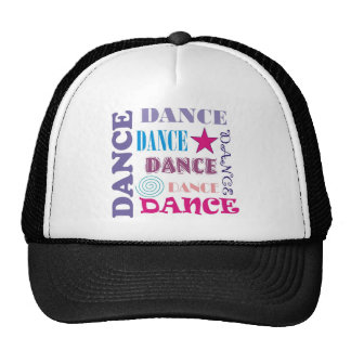 Dance Repeating Trucker Hats