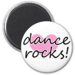 Dance Rocks! 2 Inch Round Magnet