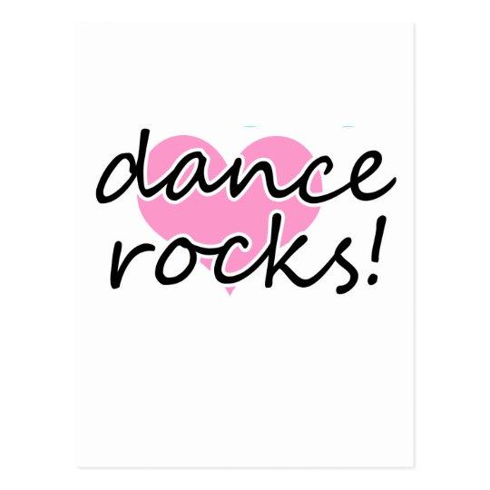 Dance Rocks! Postcard
