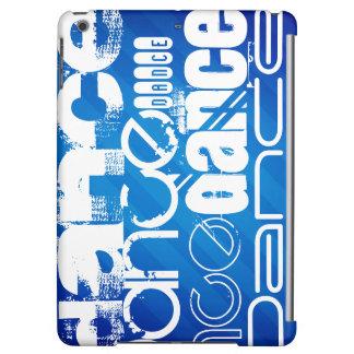 Dance; Royal Blue Stripes iPad Air Covers
