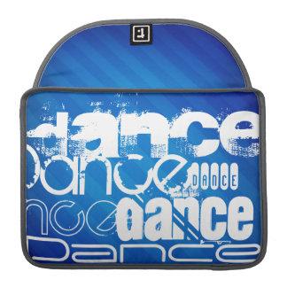 Dance; Royal Blue Stripes Sleeve For MacBooks