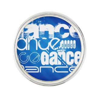 Dance; Royal Blue Stripes Pin