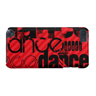 Dance; Scarlet Red Stripes iPod Touch 5G Covers