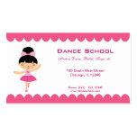 Dance School Business Cards