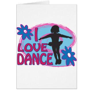 Dance Shirts, Gifts Greeting Card