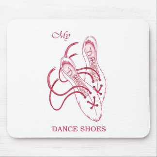 Dance shoes mousepads