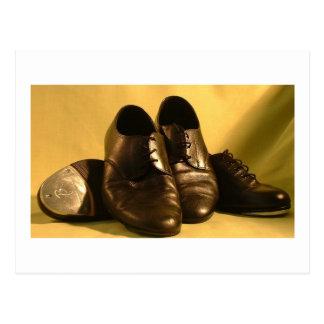 Dance Shoes Postcard