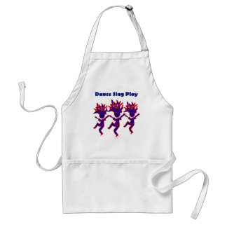 Dance Sing Play Adult Apron