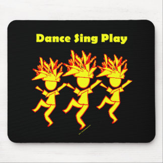 Dance Sing Play Mouse Pad