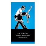 Dance Sport Instructor Business Card