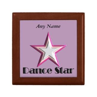 Dance Star Keepsake Box