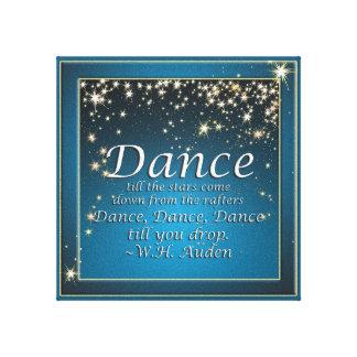 Dance Star Performance Sayings Print
