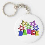 Dance Stars Keychains