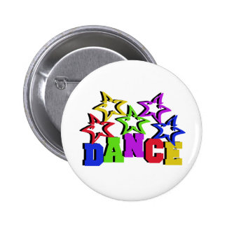 Dance Stars Pinback Button
