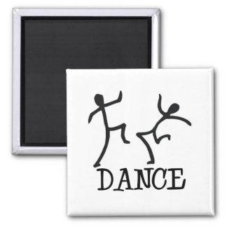 Dance Stick Figures Magnet