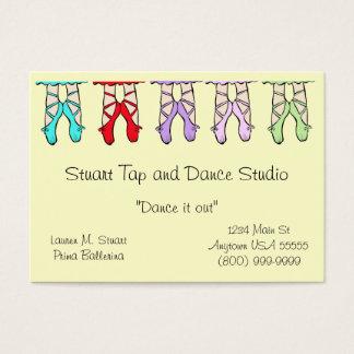 Dance Studio Business Cards