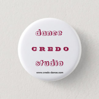 Dance studio CREDO Pinback Button