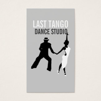 Dance Studio, Instructor, Dancer, Business Card
