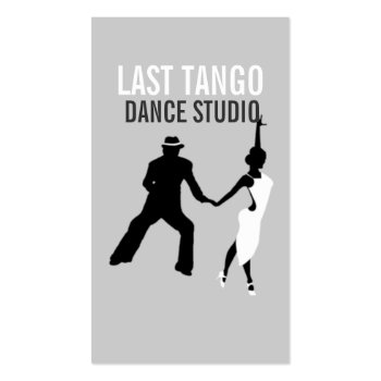 Dance Studio, Instructor, Dancer, Business Card