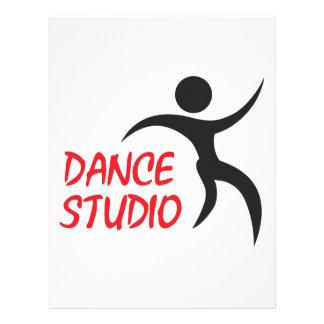 DANCE STUDIO CUSTOM LETTERHEAD