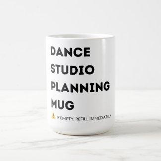Dance Studio Planning Mug