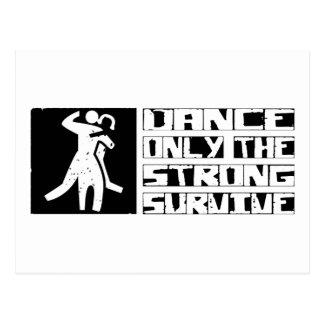 Dance Survive Postcard