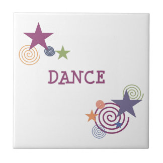 Dance Swirl Ceramic Tile