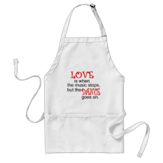 Dance T-shirts and Gifts. Adult Apron