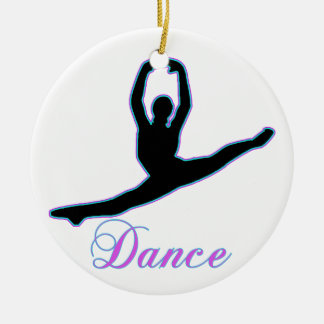 DANCE T Shirts & iPhone Gifts Double-Sided Ceramic Round Christmas Ornament